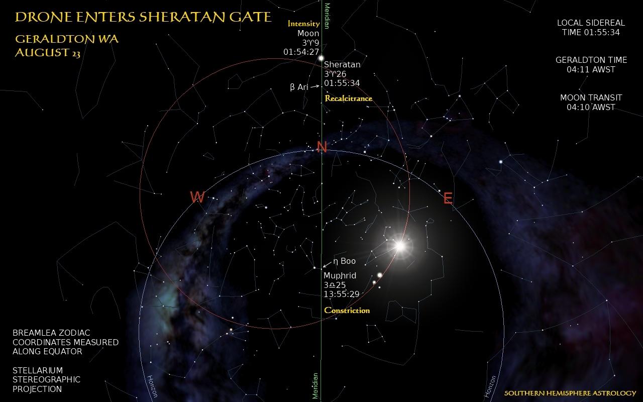 Drone Enters Sheratan Gate