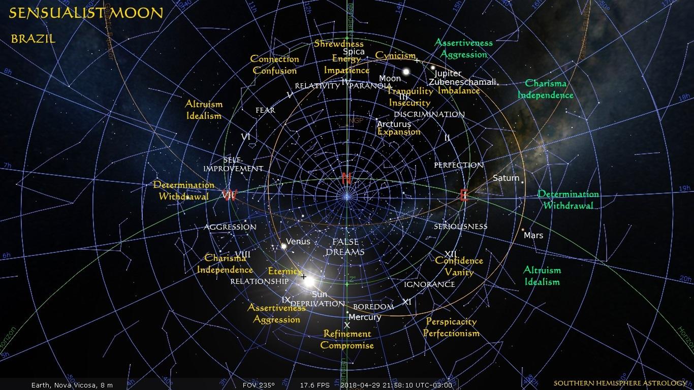Sensualist Moon Nova Vicosa Clock Apr29