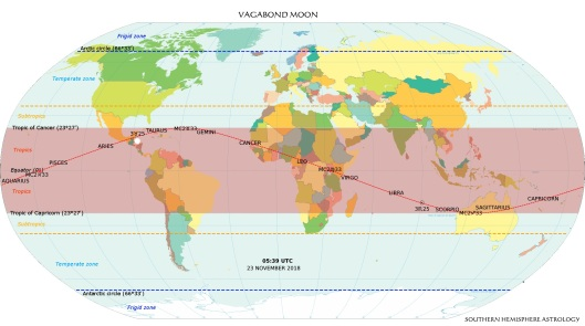 Vagabond World Mercator Projection