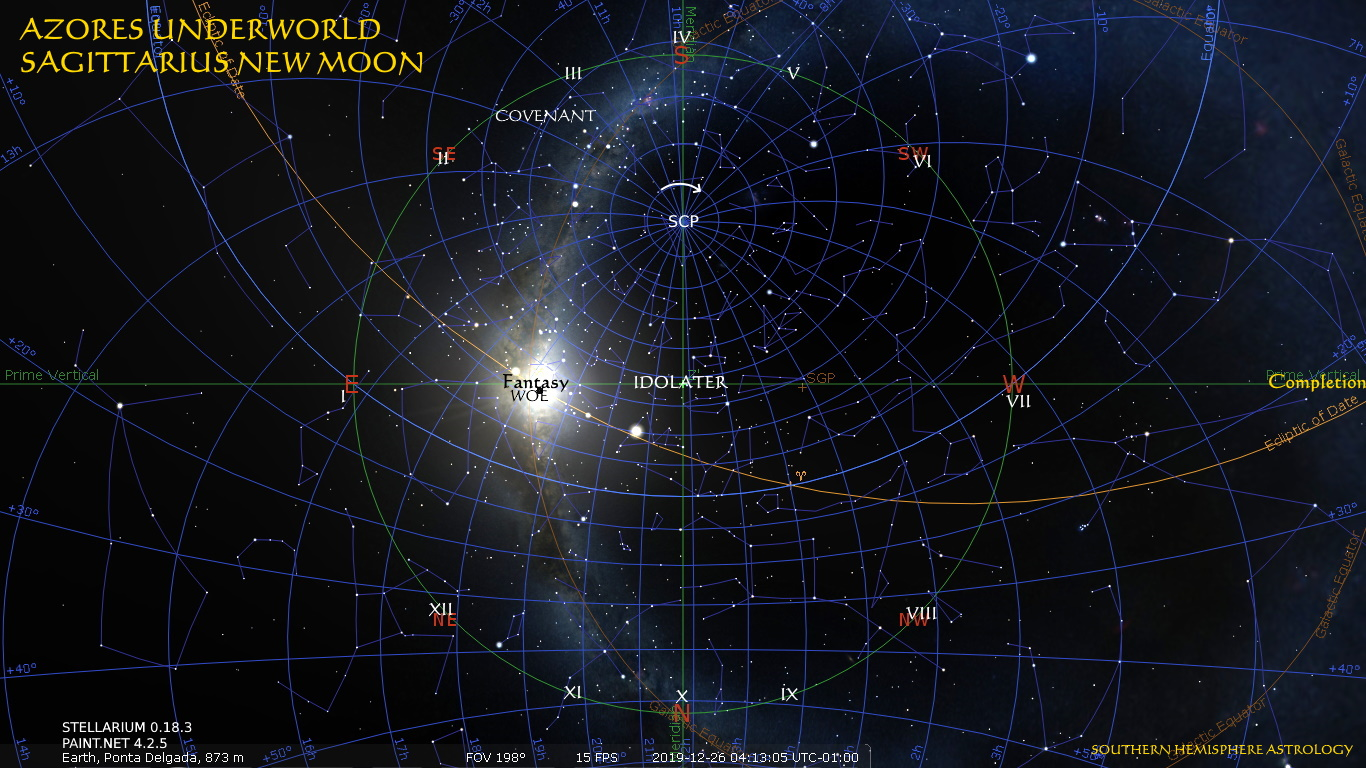 Sagittarius New Idolater Azores Underworld Dec26