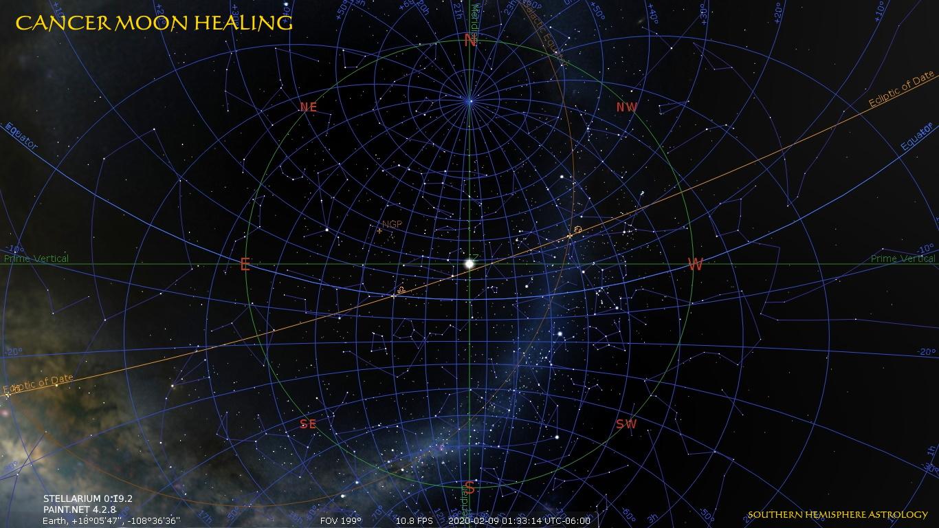 Healer Moon Zenith Transit Feb09