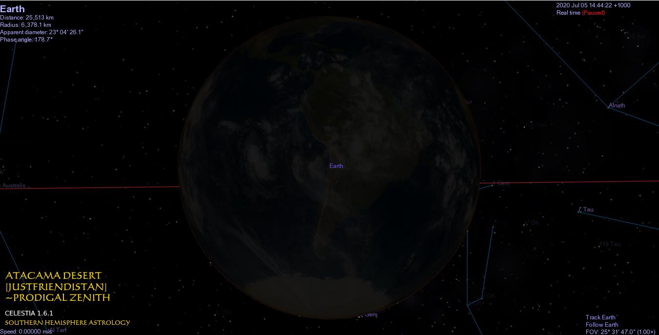 Prodigal New Earth Closeup in Gemini