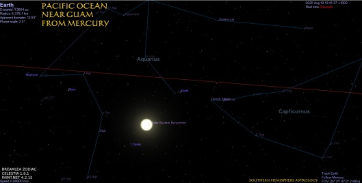 Cancer New Pacific Near Guam from Mercury Aug19
